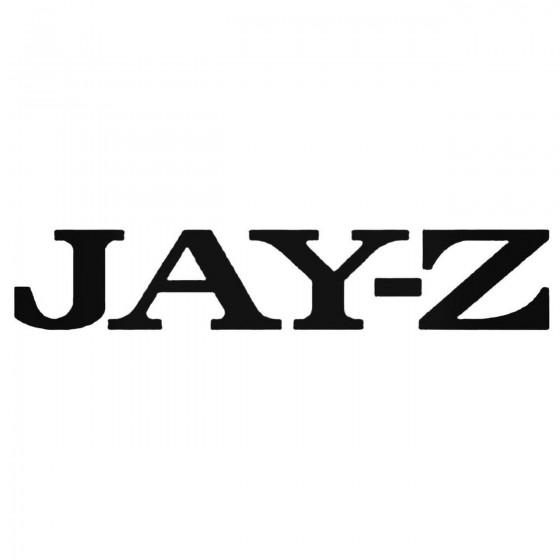Jay Z Decal Sticker