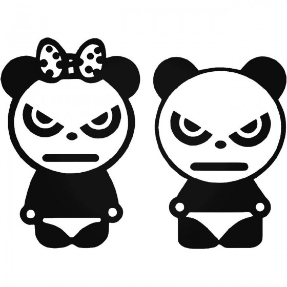 Jdm Angry Pandas Vinyl...