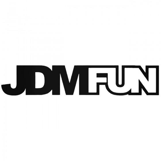 Jdm Fun Jdm Car Decal Sticker