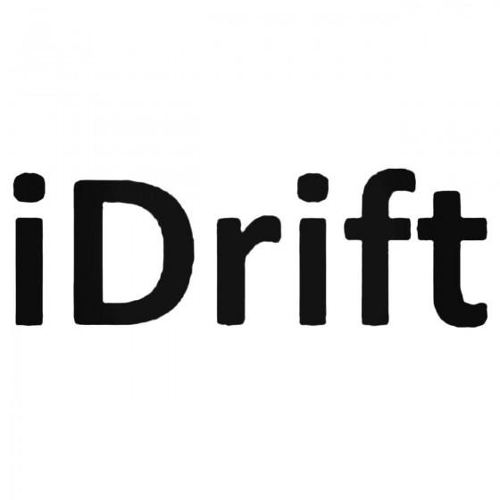 Jdm I Drift Schrift Decal...