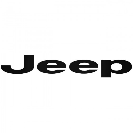 Jeep 2 Graphic Decal Sticker