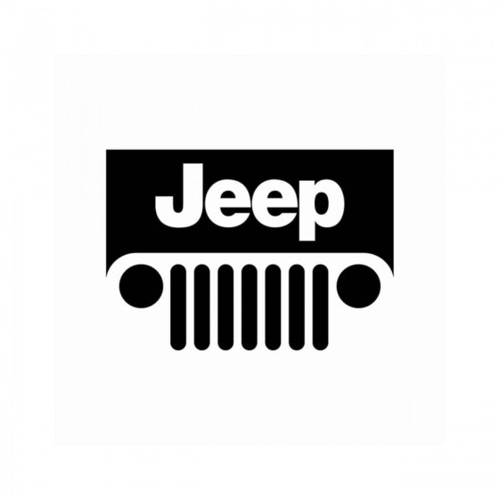 Jeep 4x4 Vinyl Decal Sticker