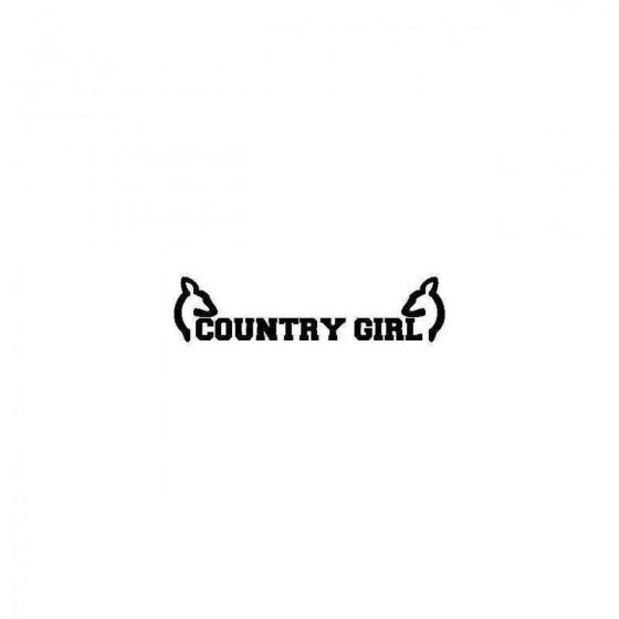 Jeep Country Girl Vinyl...