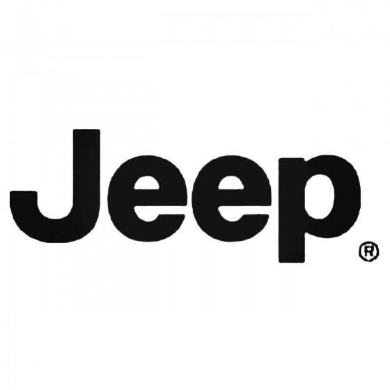 Jeep Decal Sticker