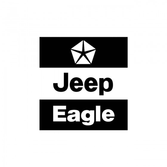 Jeep Eagle Logo Vinyl Decal...
