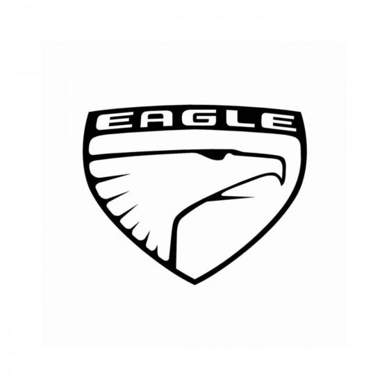 Jeep Eagle Vinyl Decal...