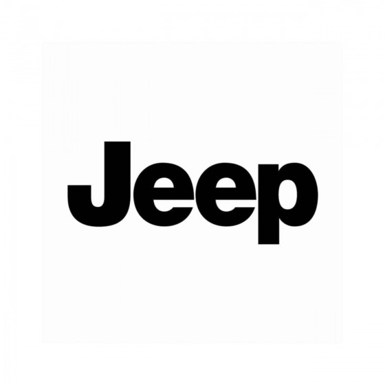 Jeep Ecriture Vinyl Decal...