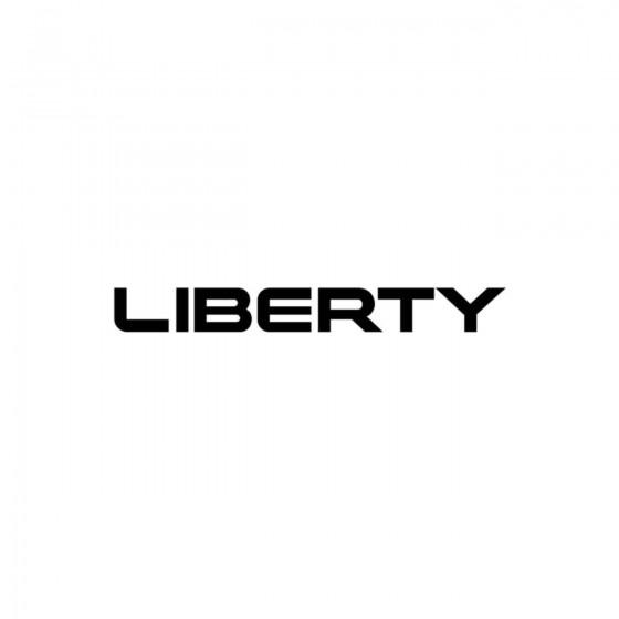 Jeep Liberty Vinyl Decal...