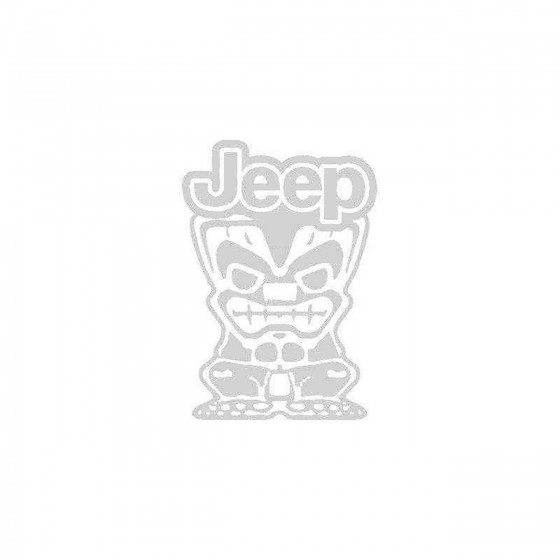 Jeep Tiki Man Logo Vinyl...
