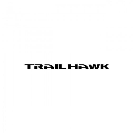 Jeep Trail Hawk Vinyl Decal...