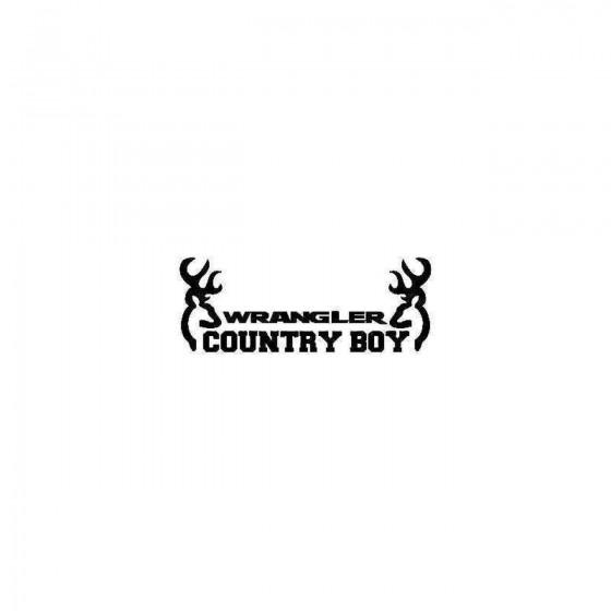 Jeep Wrangler Country Boy...