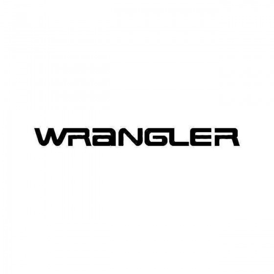 Jeep Wrangler Logo Vinyl...