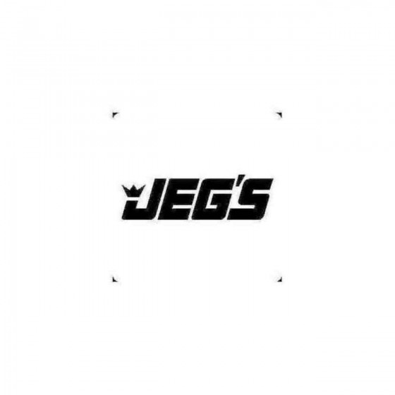 Jegs Decal Sticker