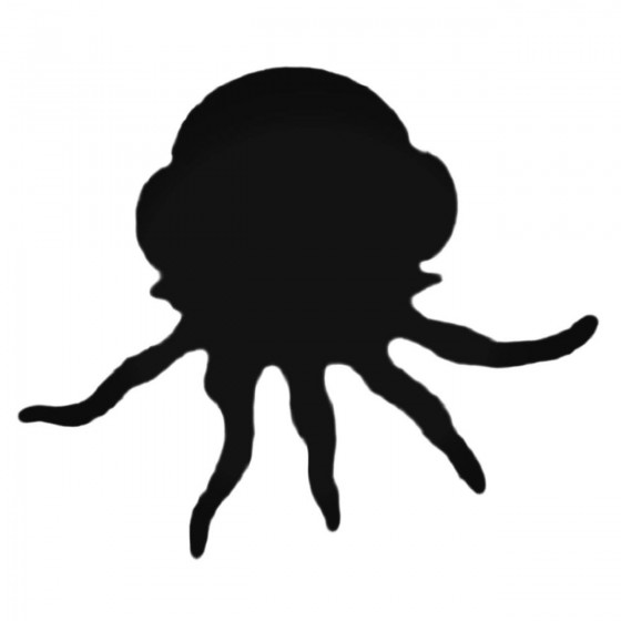 Jellyfish Silhouette Decal...