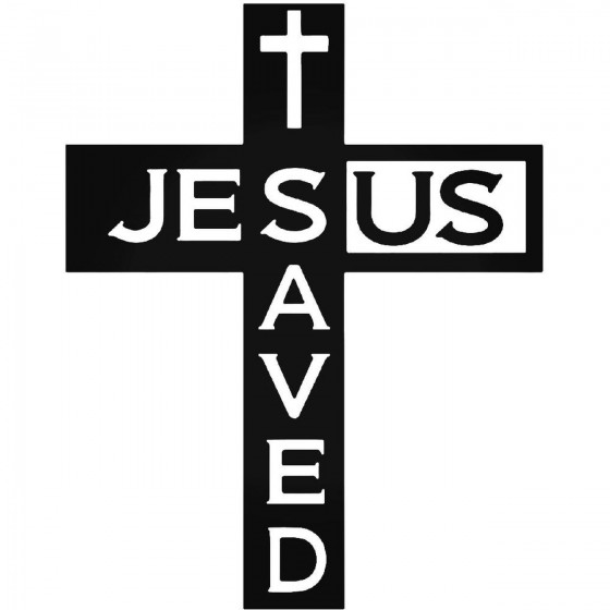 Jesus Saved Christian Vinyl...