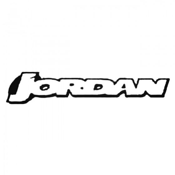 Jordan F1 Decal Sticker