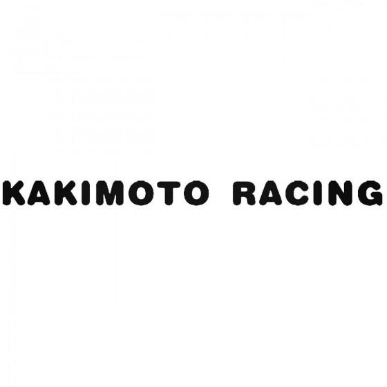 Kakimoto Racing 2 Vinyl...