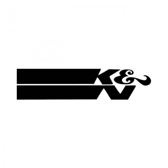 K And N Logo Vinyl Decal...