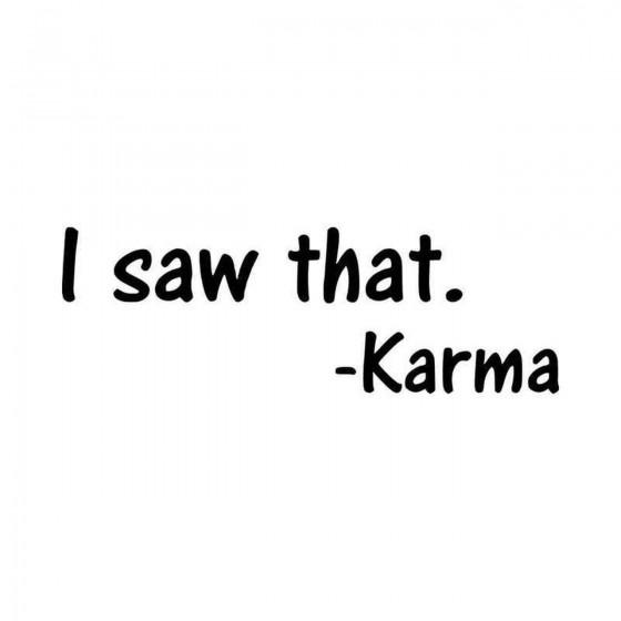 Karma I Saw That Vinyl...