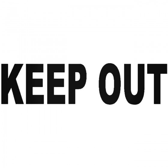 Keep Out Business Office...