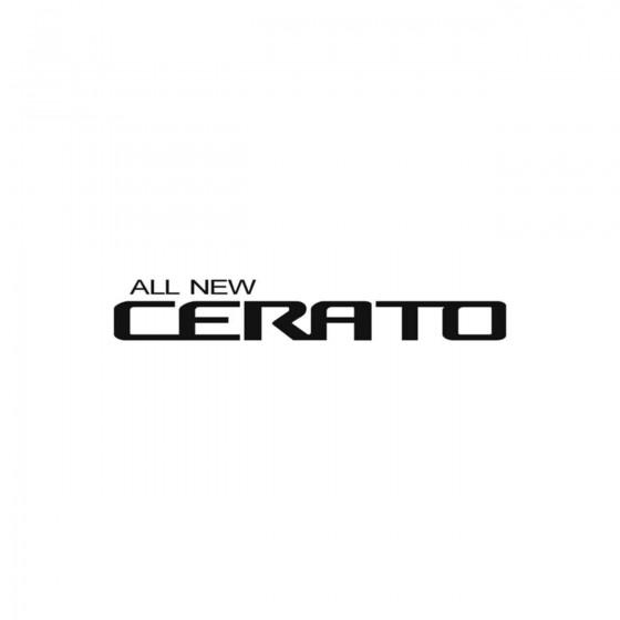 Kia Cerato Vinyl Decal Sticker