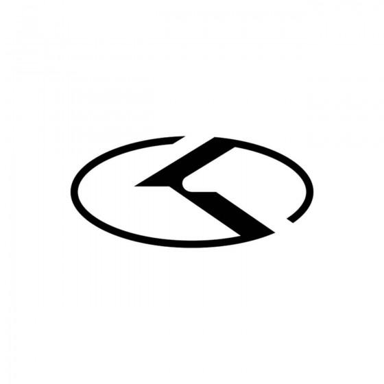 Kia Logo Vinyl Decal Sticker 1