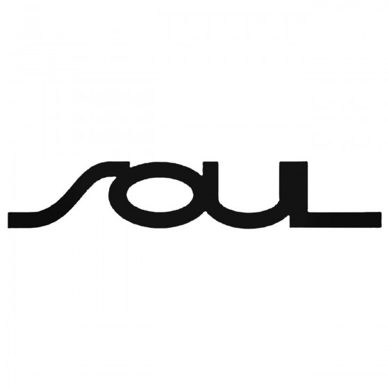 Kia Soul Logo Decal Sticker