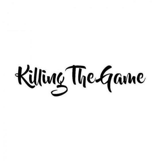 Killing The Game Vinyl...