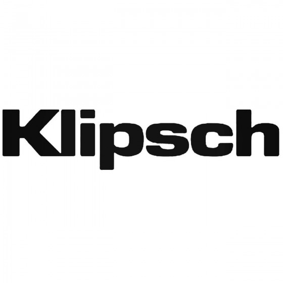 Klipsch Audio Logo Vinyl...