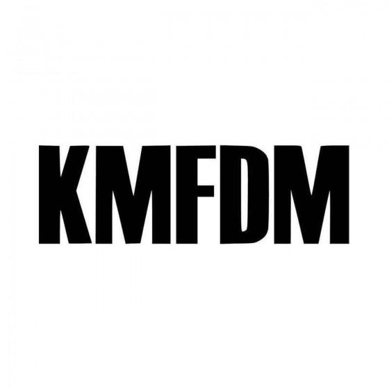 Kmfdm Band Logo Vinyl Decal...