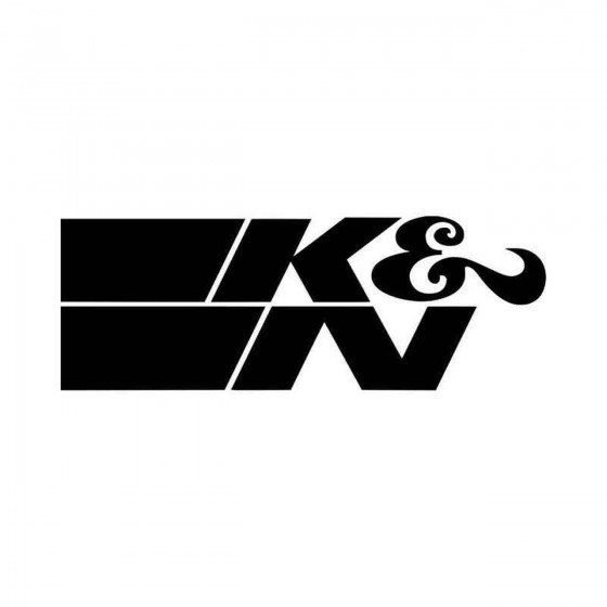 KN Aftermarket Vinyl Decal...
