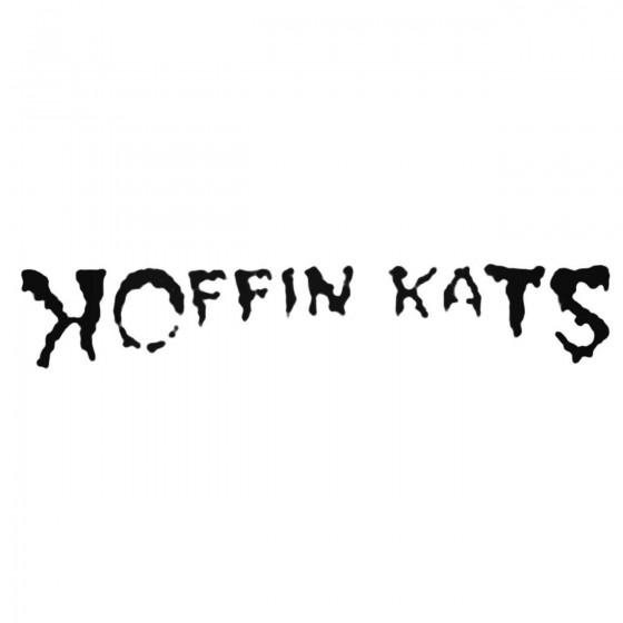 Koffin Kats Decal Sticker