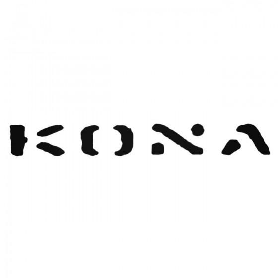 Kona Army Decal Sticker
