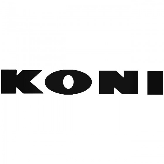 Koni 1 Vinyl Decal Sticker