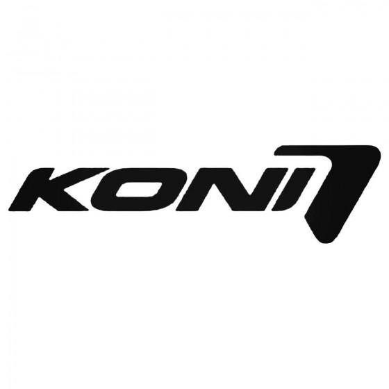 Koni Aftermarket Decal Sticker