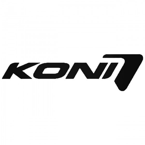Koni Shocks 02 Decal Sticker