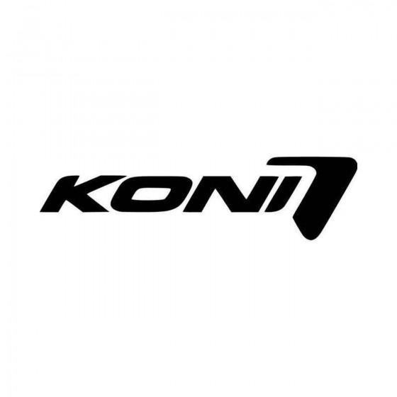 Koni Sponsor Logo Vinyl...