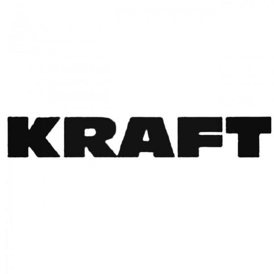 Kraft Decal Sticker
