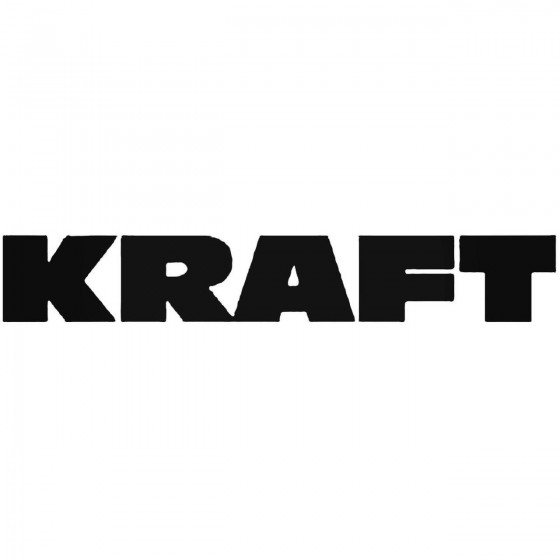 Kraft Vinyl Decal