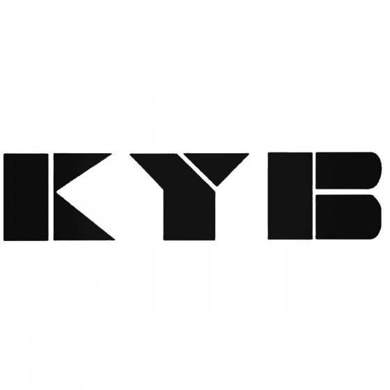 Kyb Graphic Decal Sticker