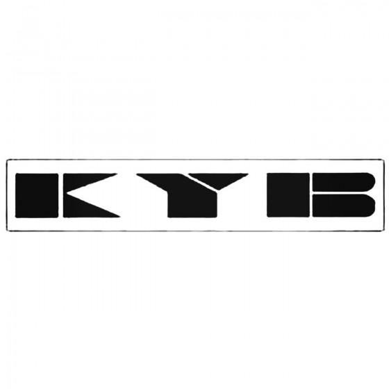 Kyb Shocks Windshield Decal...