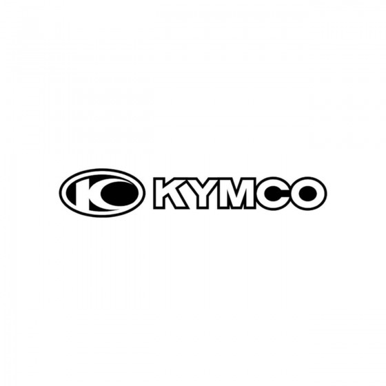 Kymco Contours Vinyl Decal...