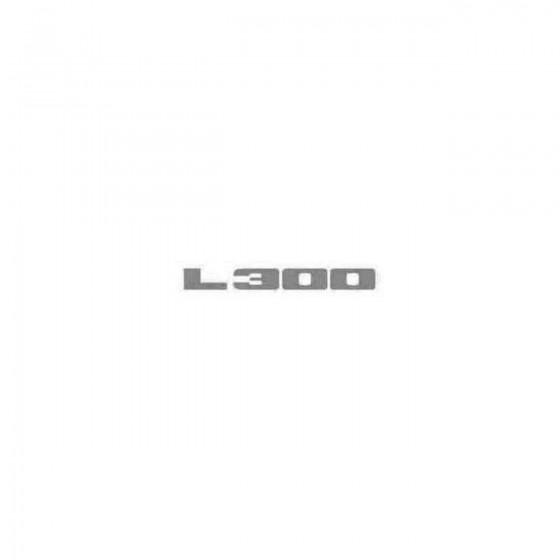 L300 Decal Sticker