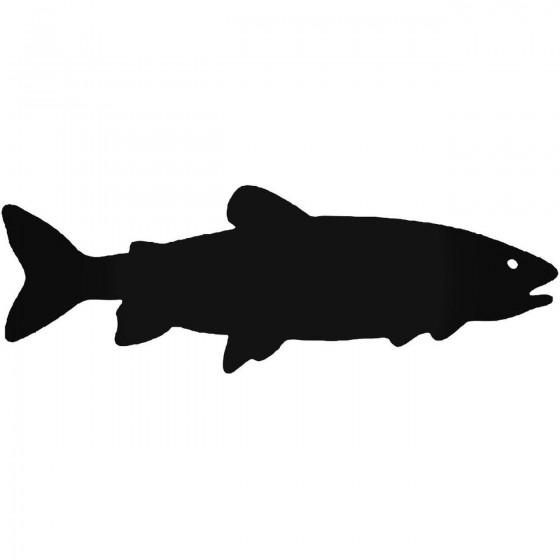 Lake Trout Fish Vinyl Decal...