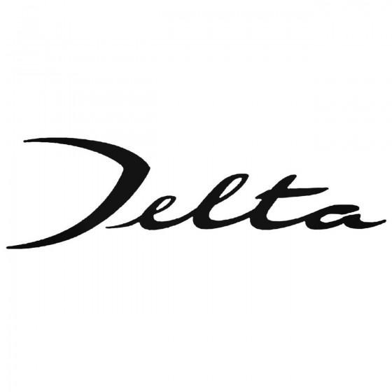 Lancia Delta Decal Sticker
