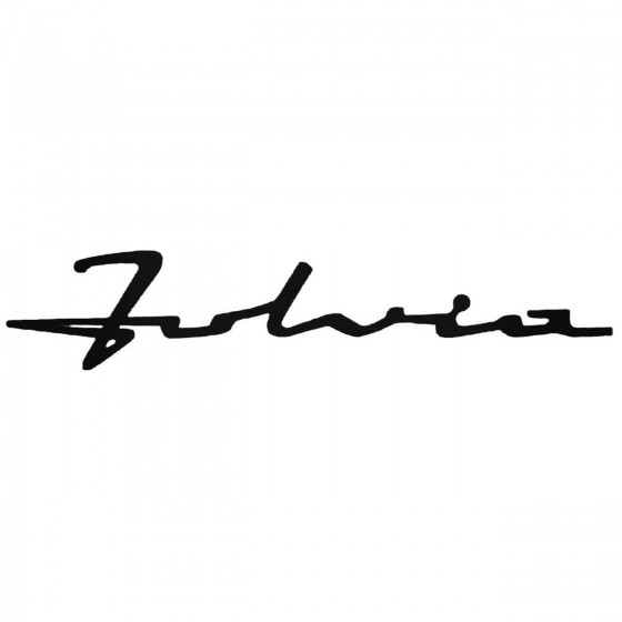 Lancia Fulvia Decal Sticker