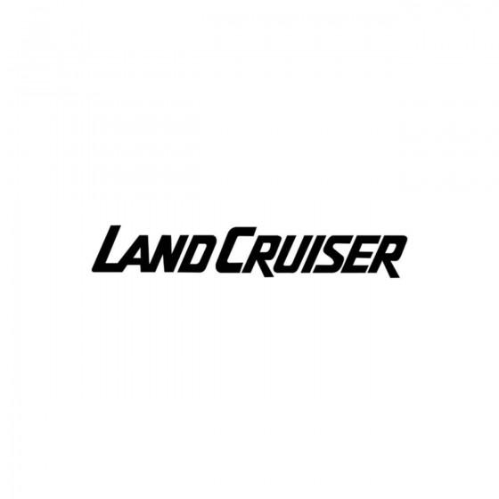Land Cruiser Toyota Vinyl...