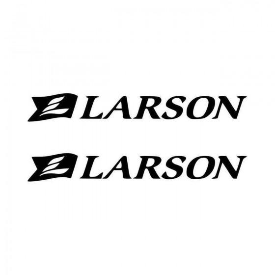 Larson Boats Logo S Vinyl...