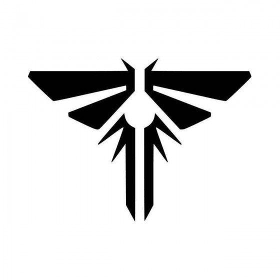 Last Of Us Firefly Logo Car...