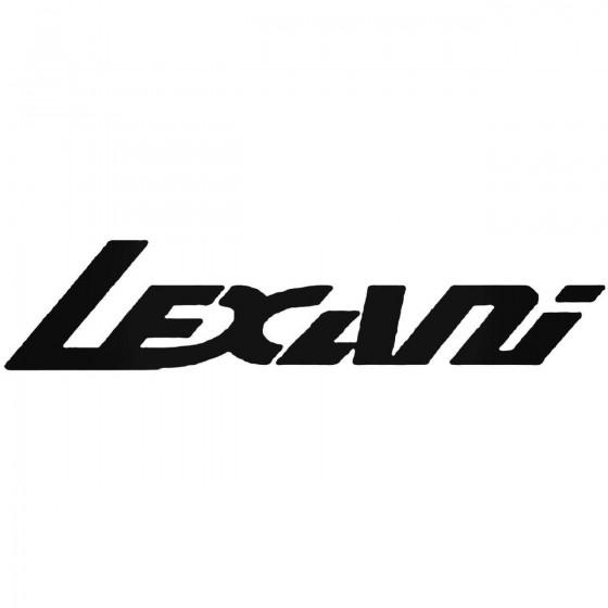 Lexani Vinyl Decal